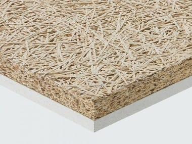Cement-bonded wood fiber ceiling tiles CELENIT AB/F