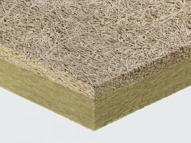 Cement-bonded wood fiber ceiling tiles CELENIT L2ABE25