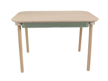 Rectangular dining table with drawers CÉLESTE
