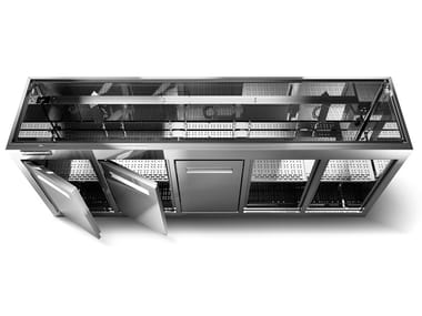 Stainless steel Refrigeration cell REFRIGERATED COUNTER BODIES