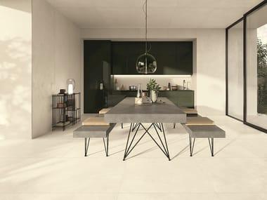 Pavimento/rivestimento in gres porcellanato effetto cemento CEMENT_PROJECT - COLOR-00 CEM
