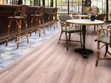 Pavimento effetto legno CEMENTI CLICK   Pavimento effetto legno