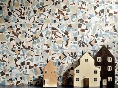 Porcelain stoneware wall/floor tiles CEMENTINE_COCCI