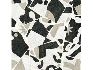 Pavimento/rivestimento in gres porcellanato CEMENTINE_COCCI B&W