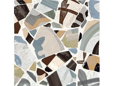 Pavimento/rivestimento in gres porcellanato CEMENTINE_COCCI COLORS
