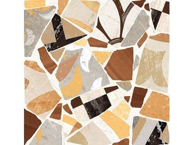 Pavimento/rivestimento in gres porcellanato CEMENTINE_COCCI OCRA