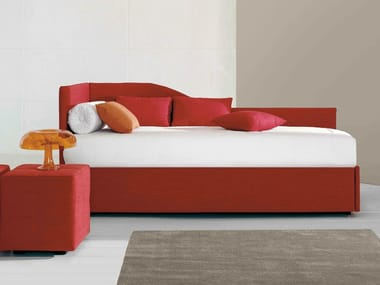 Upholstered storage bed single bed CENTOUNO