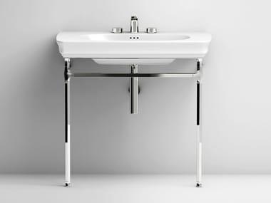 Lavabo console en céramique CIVITAS | Lavabo en céramique