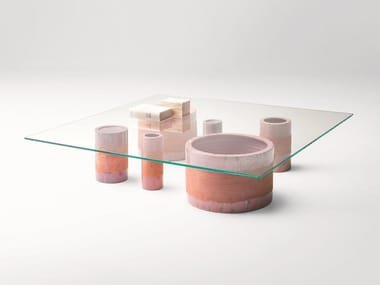 Glass coffee table CERCHI