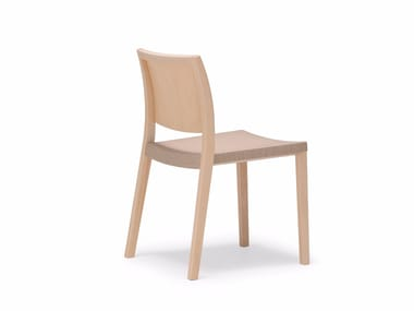 Stackable wooden chair DUOS | Chair