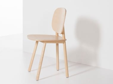 Wooden chair PADDLE | Chair