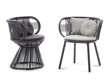 Synthetic fibre chair CIRQL | Chair
