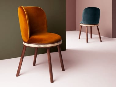 Upholstered chair ALMA | Chair