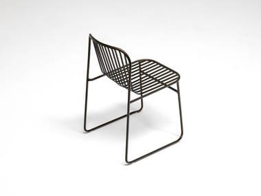 Steel garden chair RIVIERA | Chair