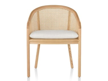 Vienna straw chair with integrated cushion LANDMARK | Chair
