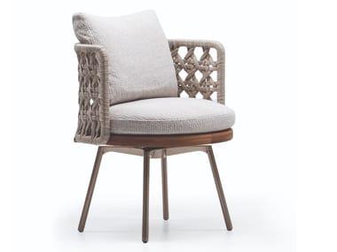 Gartenstuhl mit Armlehnen TORII NEST OUTDOOR | Loungesessel