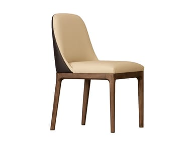 Upholstered ash chair BELLAGIO | Chair