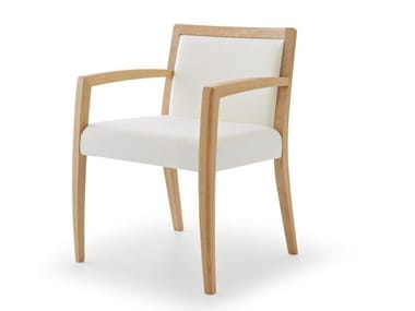 Armchair with armrests DELPHI | Armchair with armrests