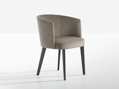 Fabric chair with armrests LENA | Chair