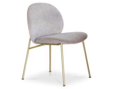 Upholstered fabric chair OLA | Chair