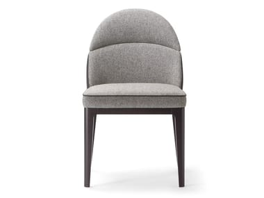 Upholstered fabric chair ASTON | Chair