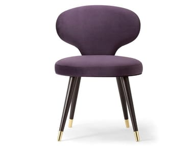 Upholstered fabric chair ELLE | Chair