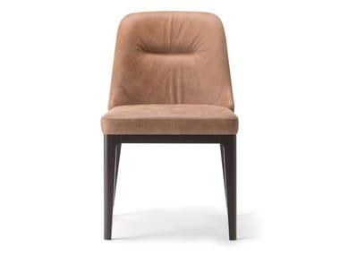 Chaise en cuir LOTUS | Chaise