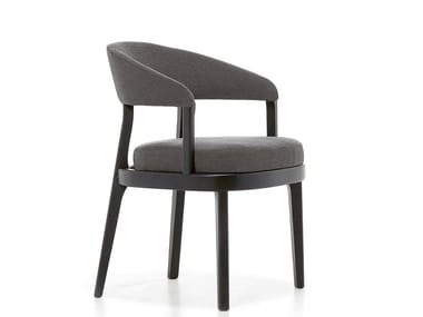 Fabric chair with armrests ECLIPSE   Chair