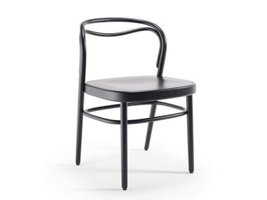 Sedia in faggio con schienale aperto BEAULIEU | Sedia