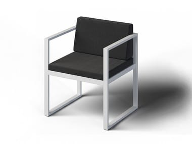Garden chair with armrests FORMAL   Chair with armrests