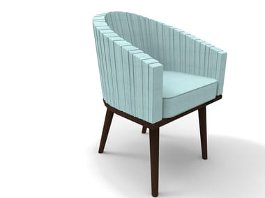 Chair with armrests POSEIDON | Chair with armrests