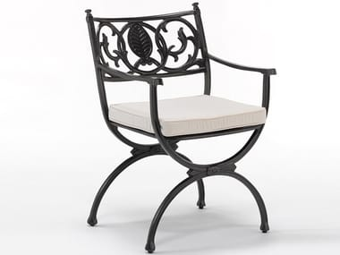 Garden chair with armrests ARTEMIS | Chair with armrests