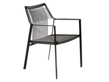 Canax® Garden Chair With Armrests NODI | Chair With Armrests. TRIBÙ