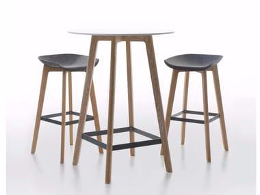 Rectangular HPL high table CHAIRMAN | High table