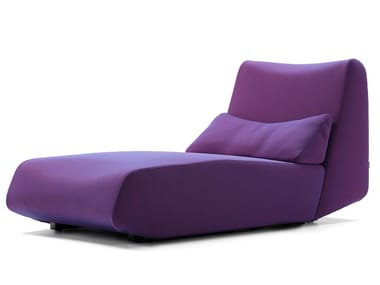 Fabric Chaise longue LOWLIFE | Chaise longue