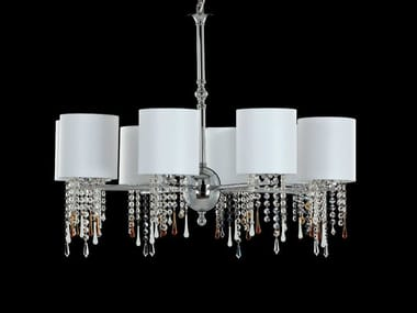 Indirect light chandelier with crystals GLAMOUR | Chandelier
