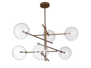 Metal chandelier ESTRO | Chandelier