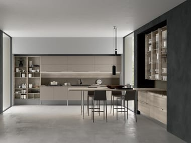Linear fitted kitchen CHANTAL 03