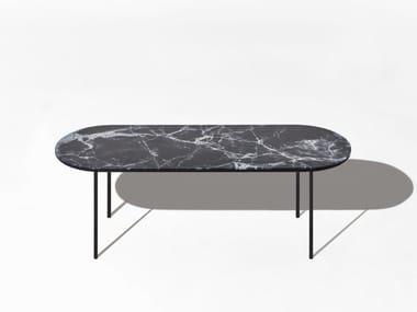 Tavolino ovale in marmo CHAPEL | Tavolino ovale