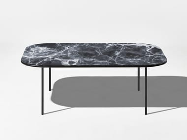 Rectangular marble coffee table CHAPEL | Rectangular coffee table