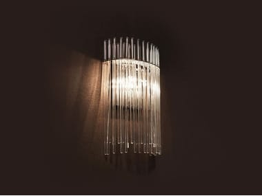Lampada da parete a LED in vetro di Murano CHARLESTON | Applique