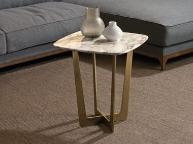 Marble coffee table for living room CHARME | Square coffee table