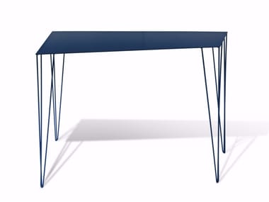 Lacquered iron console table CHELE | Console table