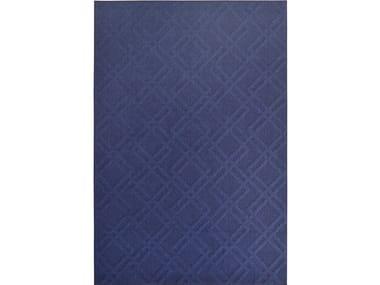 Tappeto a tinta unita rettangolare in poliestere per esterni CHESS 42112