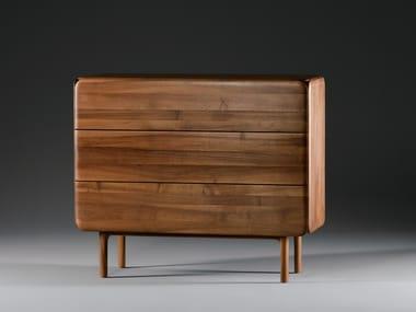 Cassettiera in legno massello CLOUD | Cassettiera