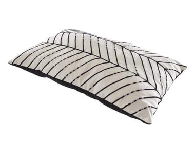 Motif rectangular cotton cushion CHEVRONS