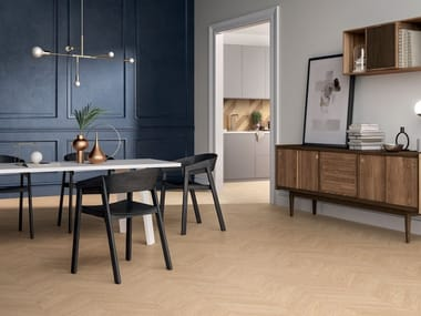 Porcelain stoneware wall/floor tiles with wood effect CHIC WOOD