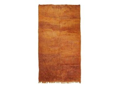 Long pile rectangular wool rug CHICHAOUA TAA1233BE