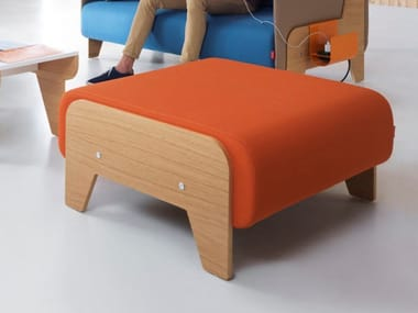 Fabric footstool CHILLOUT | Footstool