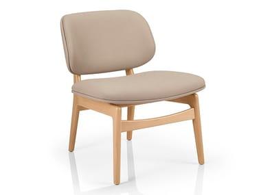Cadeira lounge de pele CHLOE M935 UU